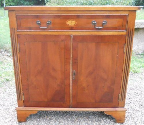 Yew Small Sideboard Cupboard